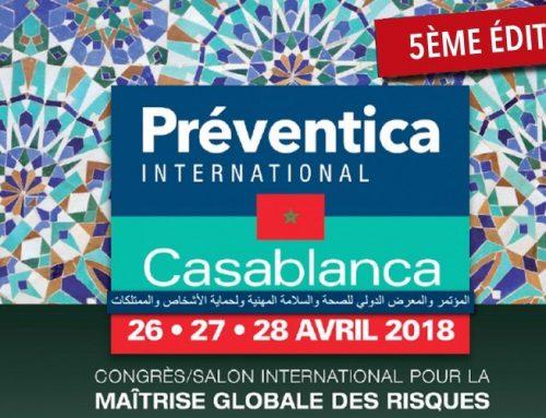 COMMUNIQUÉ DE PRESSE, PRÉVENTICA INTERNATIONAL 2018