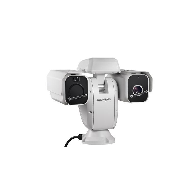 Caméea Observable thermique + optique Bi-spectre PTZ Caméra réseau
