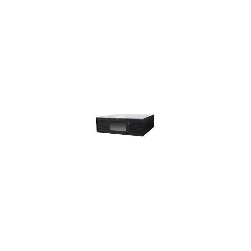 NVR 128 entrées 16 intérfaces Sata jusqu'a 8 mégapixel d'enregistrement