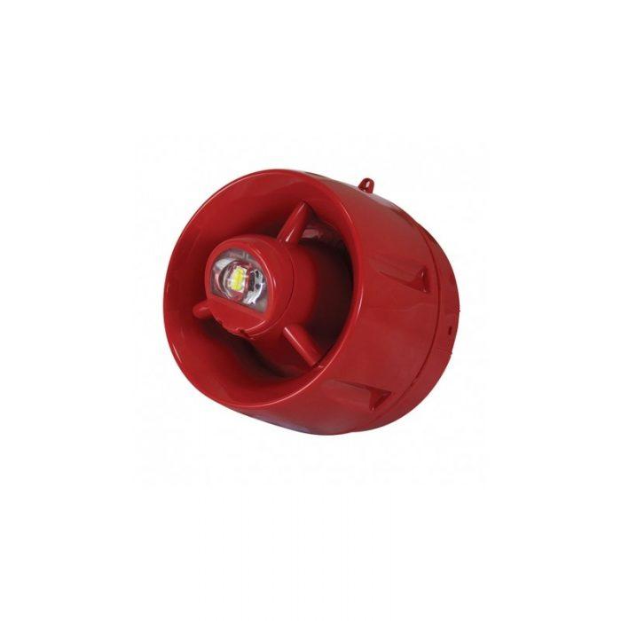 Siréne d'incendie extérieure adressable IP65 avec flash