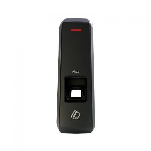 Lecteur multi-technologie empreinte et badge IP