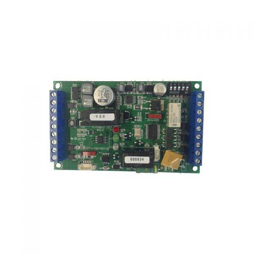 Carte relais entrée/sortie avec chargeur de batteries